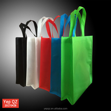 Cheap personalized colorful shopper tote wholesale foldable non woven bag for promotion