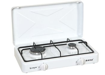 Gas Cooker-Two Burner equippied with flame failure device