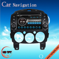 2 din 8 inch Android Mazda 2 gps car dvd player with 3G Bluetooth Wifi Radio TV