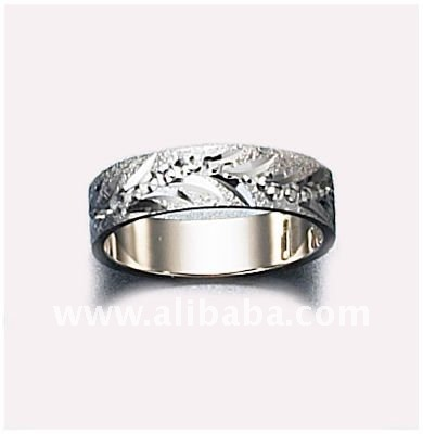 wedding 18 white gold ring