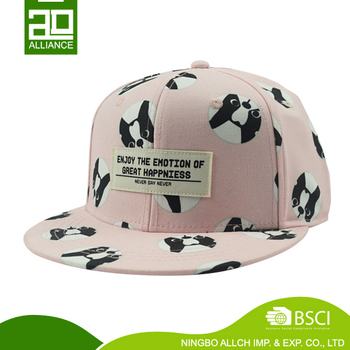 Promotional Custom Cute Cartoon Snapback Caps