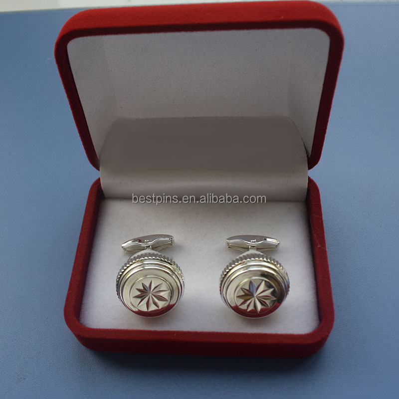 high end customize cufflinks accessories for men with gift box