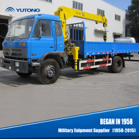 13m Hoist height Small Mobile Crane Truck For Sale
