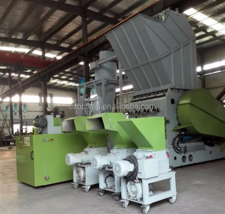 Enviromental low speed crusher with high efficiency for crush plastice& PET bottle& scrap injection molding and material head