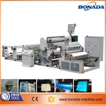 OPP/PE/PP Film Non Woven Extrusion Coating Lamination Machine
