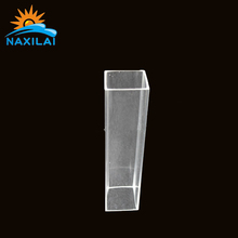 Transparent Acrylic Square Shape Tube