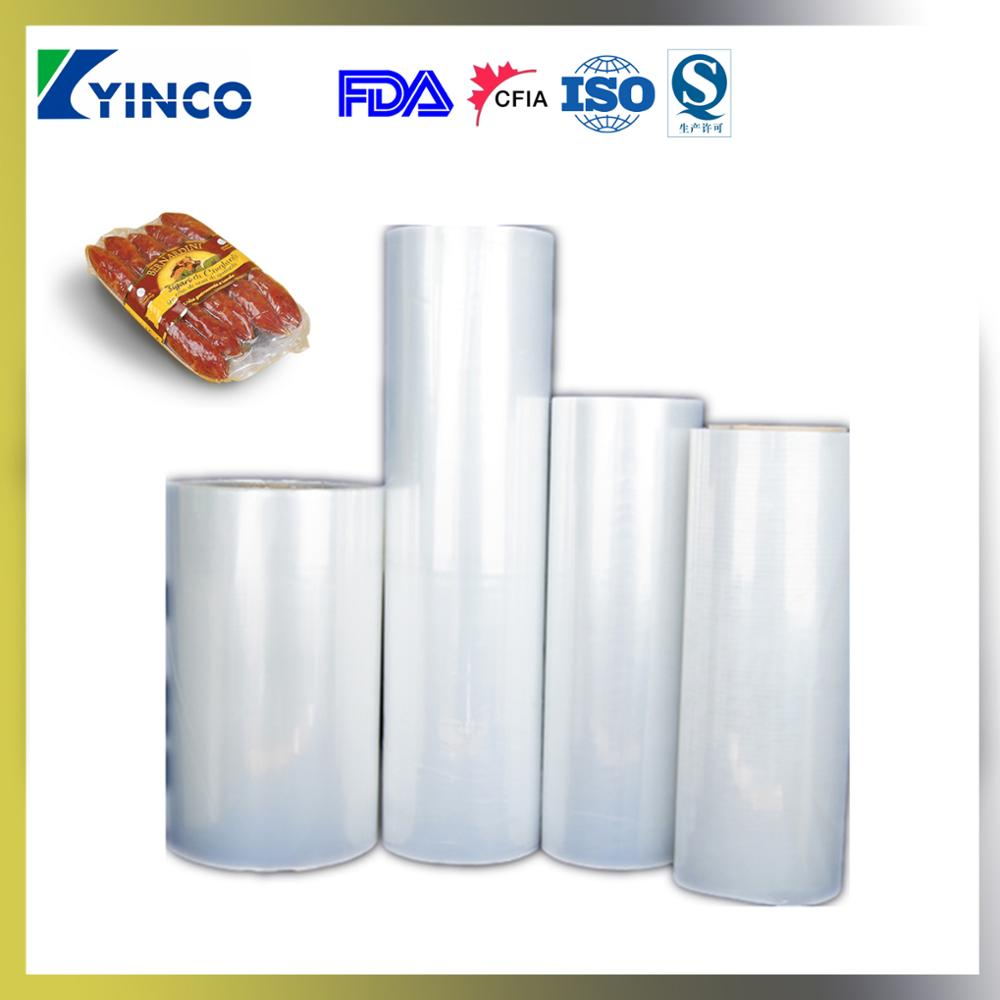 Multiple coextruded EVOH/PE/PA plastic film,5/7/9/11-layer film