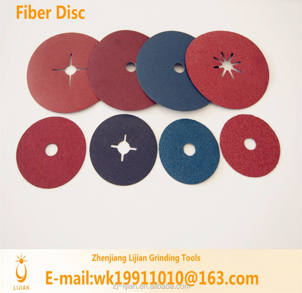 Fiber disc sand paper manufacturer for grinding&polishing of metal and furniture,etc