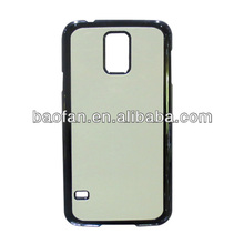 blank sublimation hard PC phone case for samsung galaxy S5