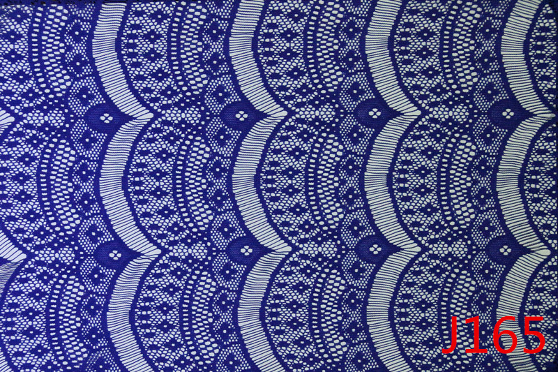 Blue Eyelash Lace Trim Fabric Wholesale in China