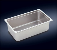 Stainless Steel 1 / 1 Gastronorm container GN Pan