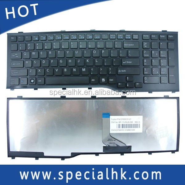 High quality Laptop Keyboard for Fujitsu Lifebook AH532 A532 N532 NH532 Series