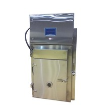 automatic steaming heating 1 trolley smoked meat equipment