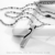 2016 Simple design Square pendant stainless steel Necklace for Lovers