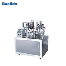 New type Semi-auto plastic Tube Filling and Sealing Machine