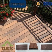 swimming pool decking wood flooring wpc crack-resistant decking