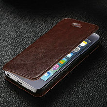Hot selling vintage leather case for iphone 5c , flip leather case for iphone 5c with receiver hole , for iphon 5c case