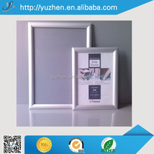 Inserted aluminum snap frame A4 photo frame picture fram for shop and mall
