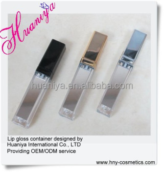 custom lip gloss packaging with your own logo