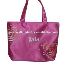 2012 wholesale promotional custom printed canvas tote bags