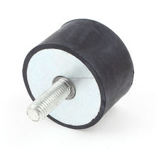 China standard auto protective sleeve anti-vibration rubber dock bumper with threaded studs bolt
