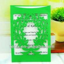 2014Teda guangzhou wedding invitation card