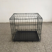 China factory folding metal dog cage for sale cheap