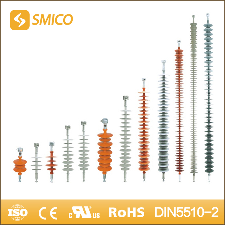 SMICO Sale 12KV To 500KV Composite Pin Type Bus Bar High Voltage Insulator
