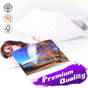 Self-adhesive 115g Glossy inkjet Photo Paper with Sticker A4 A3 4R letter size