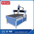 jinan yihai advertising cnc router machine for acrylic pvc aluminum copper 1212