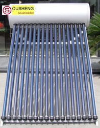 Compact pressurized solar water heater solar power information