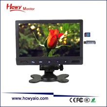 7inch Desktop 1080P Media Player MP5 Car Monitor With AV Input