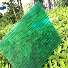 Modern design hot sale lexan hollow polycarbonate roof sheet panel