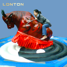 High Quality Crazy Deluxe Inflatable Mechanical Bull Riding Toys Rodeo Bull