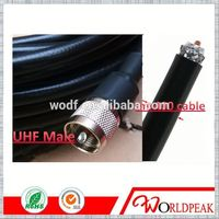 LMR400 RF coaxial Cable jumper for UHF Male/Plug Crimp connector