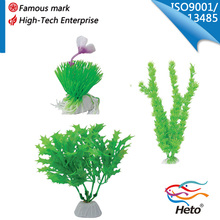 resin plants decoration in fish tank