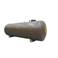 Scientific design fiberglass double wall fuel oil storage tank