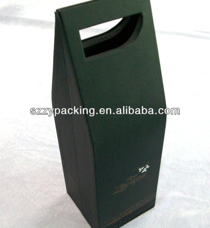 Individual packing cardboard wine box for sale