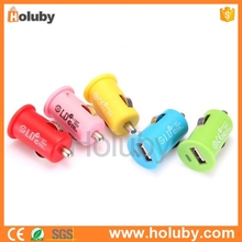 Direct factory price Universal Mini USB Car Charger for iPhone5 iPad iPod Samsung S4 Etc Smart Phone