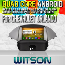Witson S160 Android 4.4 Car DVD GPS For CHEVROLET ORLANDO 2012 with Quad Core Rockchip 3188 1080P 16g ROM WiFi
