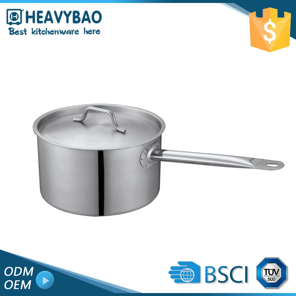 Heavybao Nice Quality Stainless Steel Milk Boiling Pot