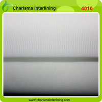 40D Double Dotted Fusible Woven Interlining Fabric