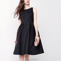 Anly medium dresses for women elegant hollow embroidered big wing sleeveless