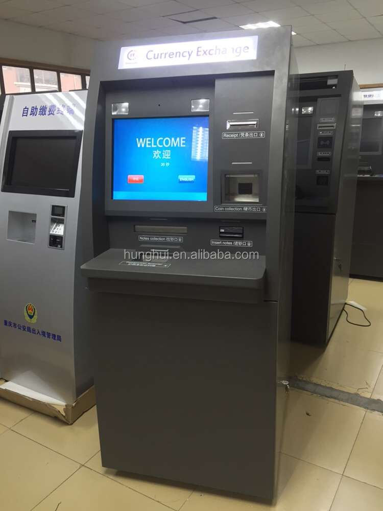 Interactive Foreign Currency Exchange Machine with customized Software