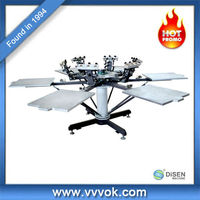 Rotary silk screen printing machine