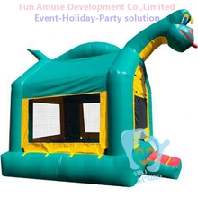 Customize funny mascot dinosaur bounce house inflatable costume
