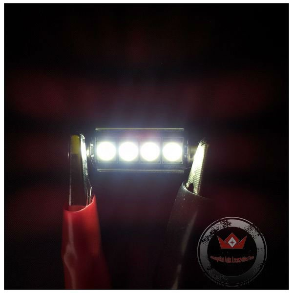 New led festoon 31 36 39 42mm For E60 (canbus type) car interior roof lamp