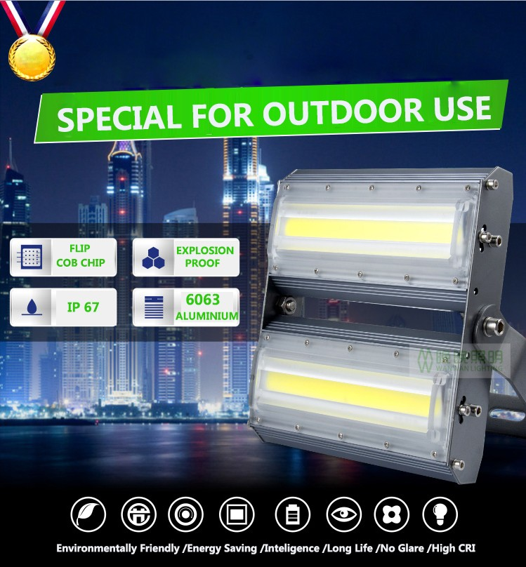 stretching aluminum housing 200w led spot flood light battery operated led lights for clothing