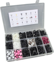 360pc Trim Clip Assortment Auto Trim Fasteners
