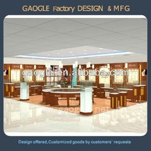 Luxury Jewelry Retail Showroom Display Furniture